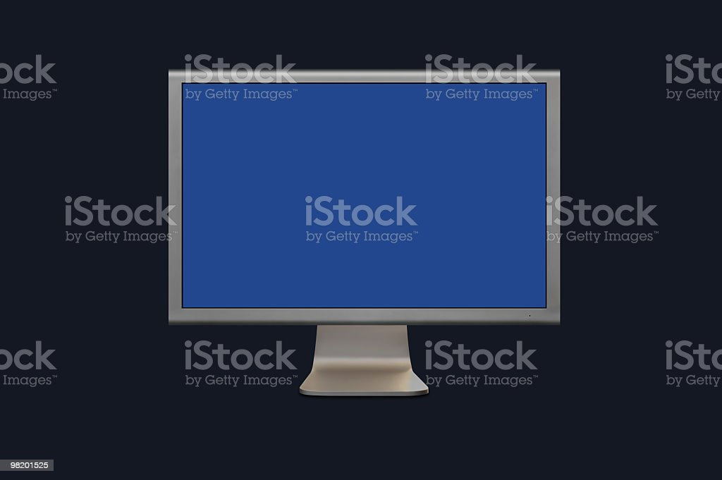 Computer Monitor royalty-free stock photo