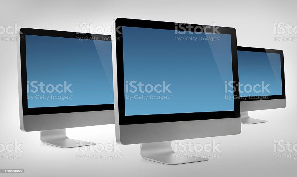 Computer Monitors stock photo