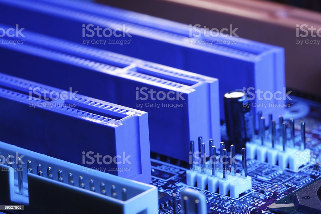 computer motherboard 免版稅 stock photo