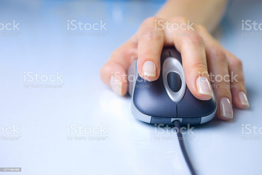 Computer Mouse 21mpx royalty-free stock photo