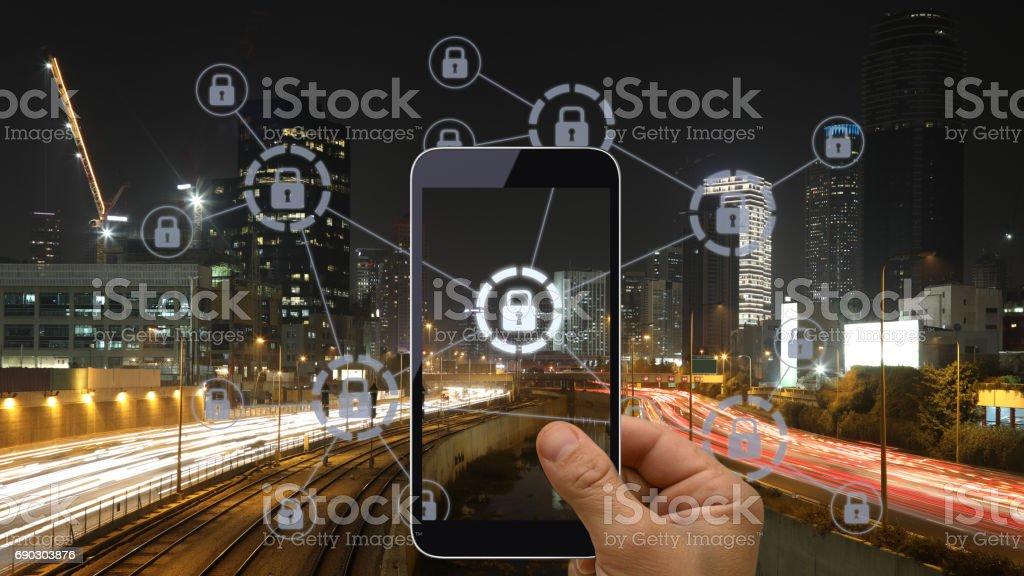 Computer Netzwerk Sicherheitstechnik cybersecurity – Foto