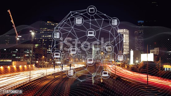 istock Computer network security internet communication technology 1157068015