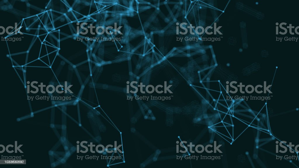 Computer network security internet connection neural technology stock photo