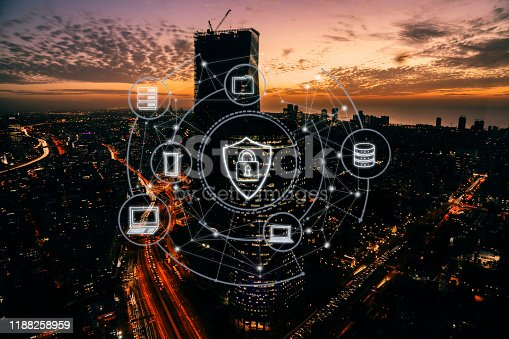 1090039252 istock photo Computer network security internet cyber technology 1188258959