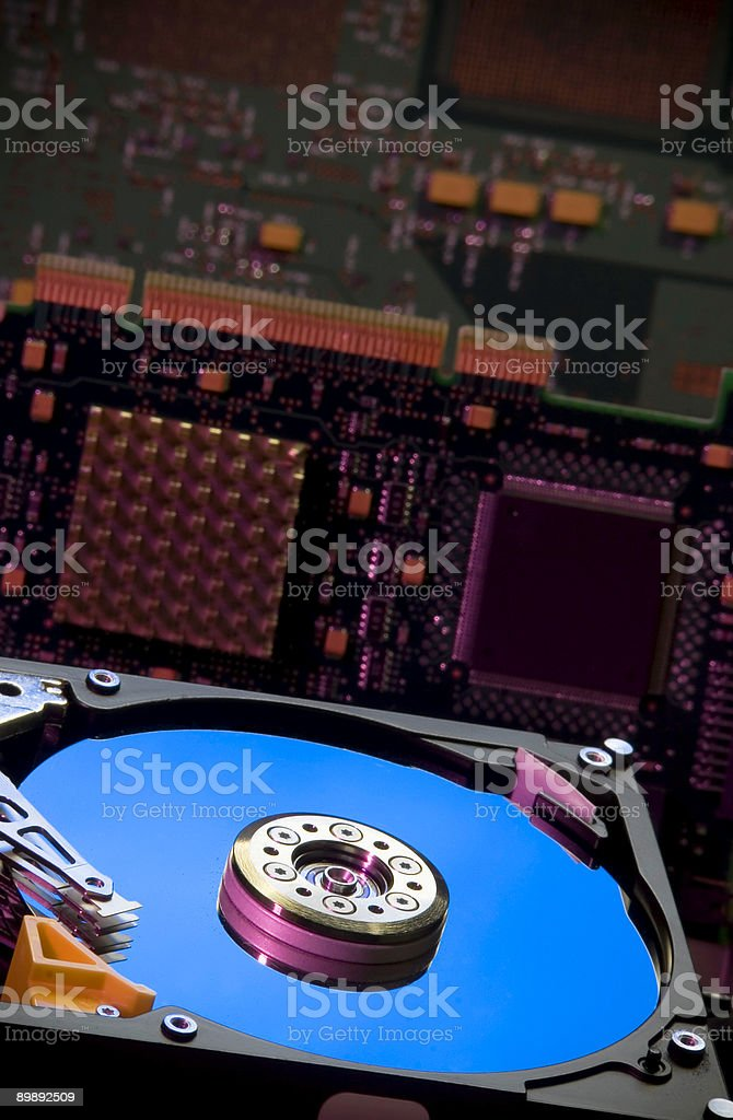 Computer part HD royalty-free stock photo