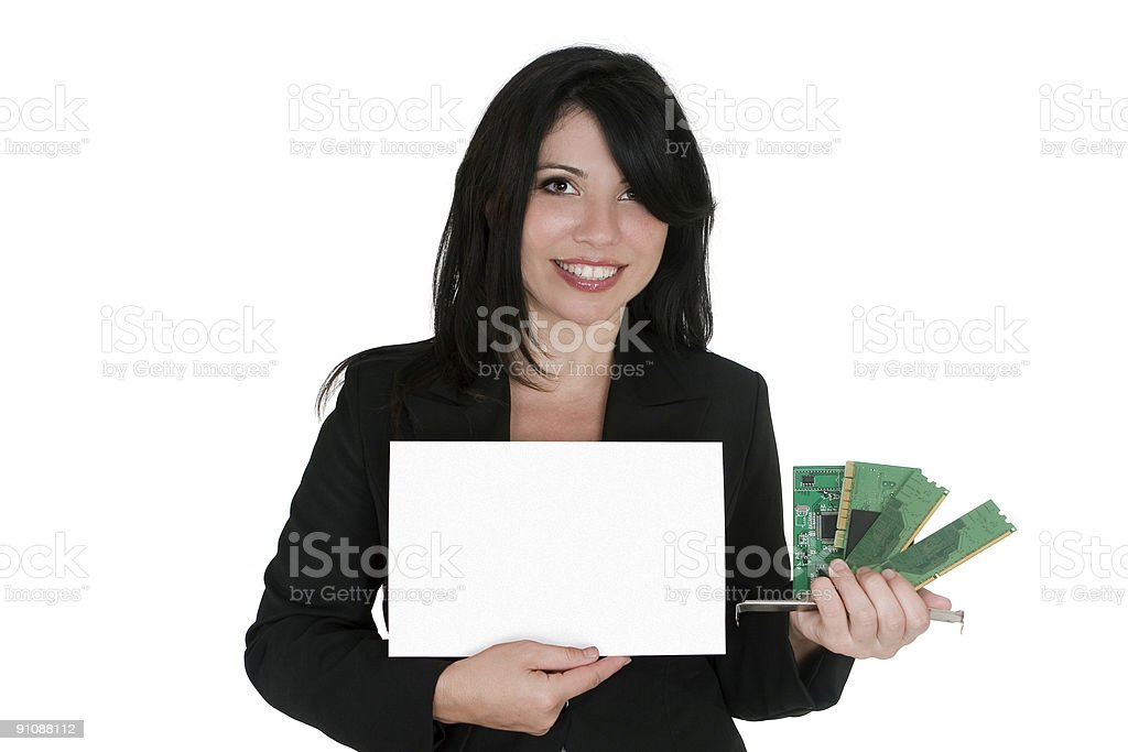 Computer parts, upgrade or sale royalty-free stock photo