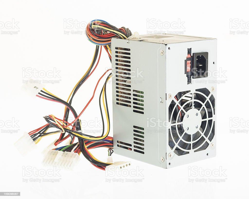 Computer PC power supply psu stock photo