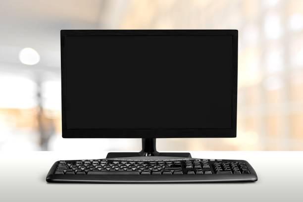 Computer. stock photo
