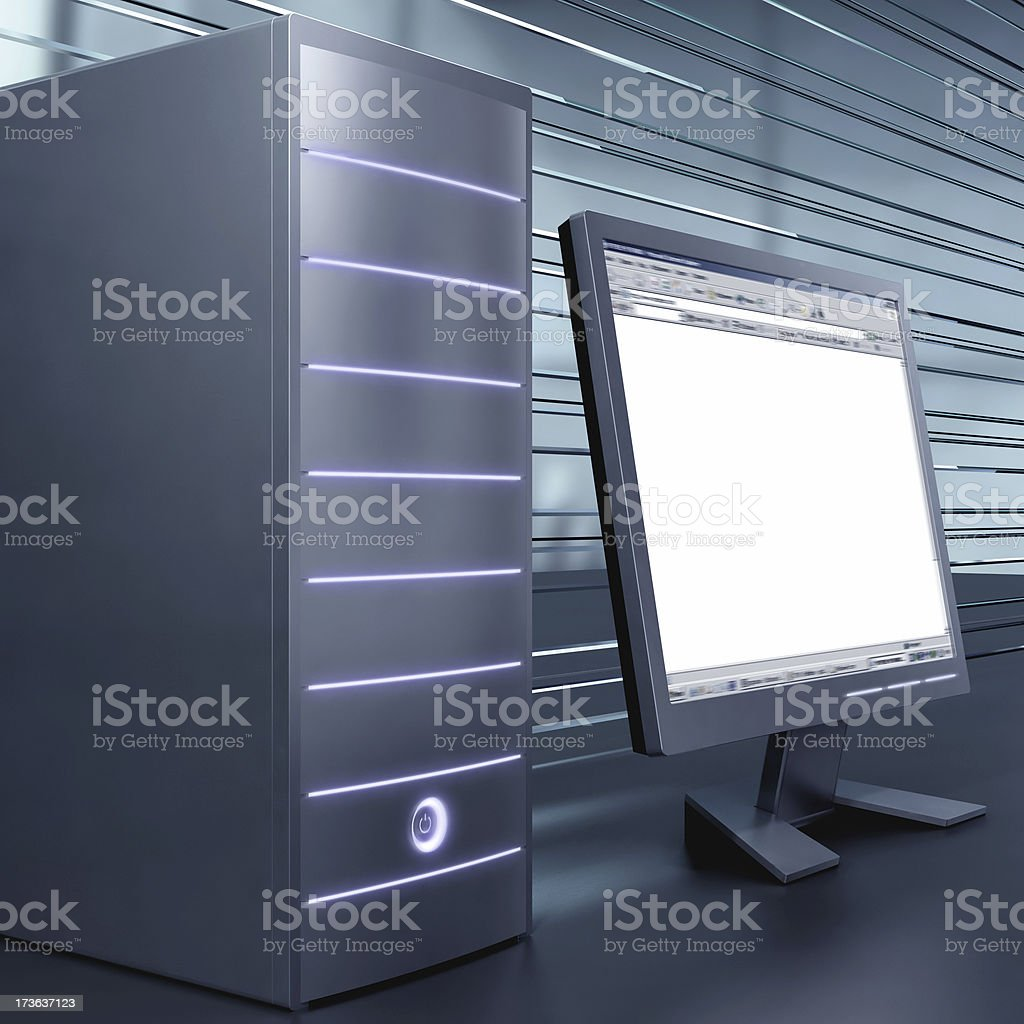 computer royalty-free stock photo