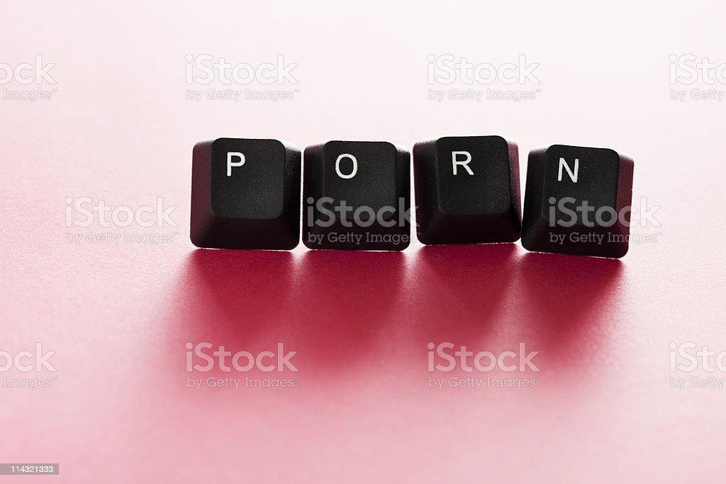 Computer PORN royalty-free stock photo