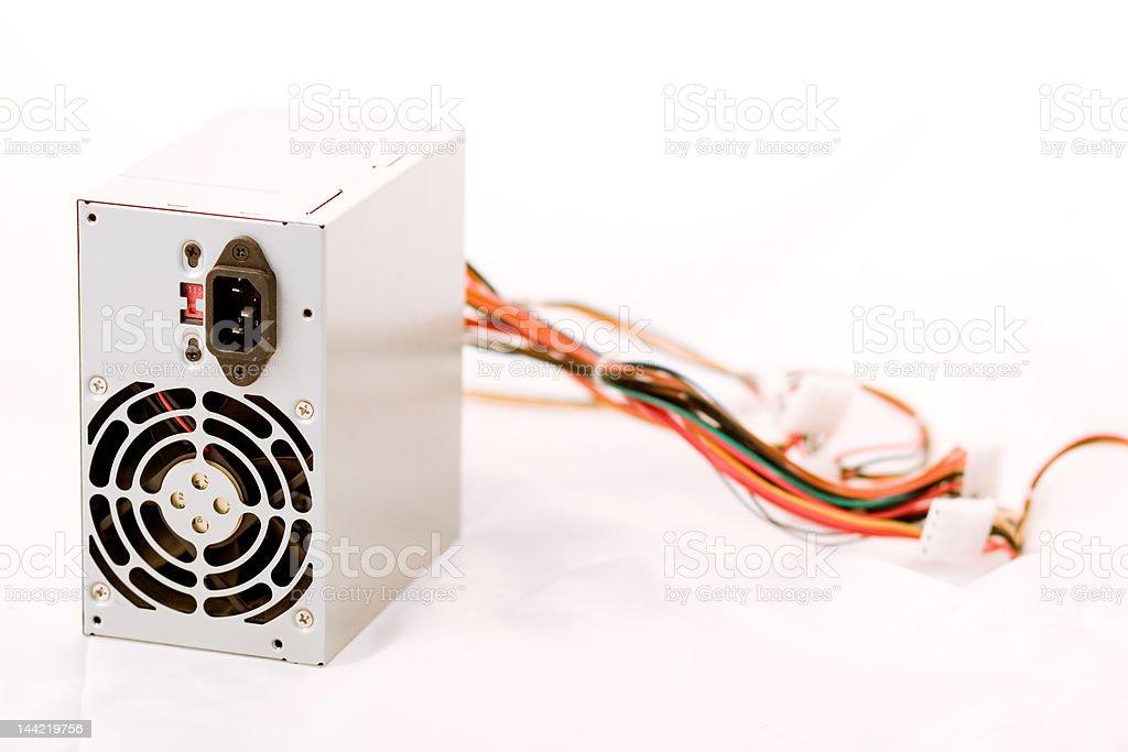 Computer Power Supply stock photo
