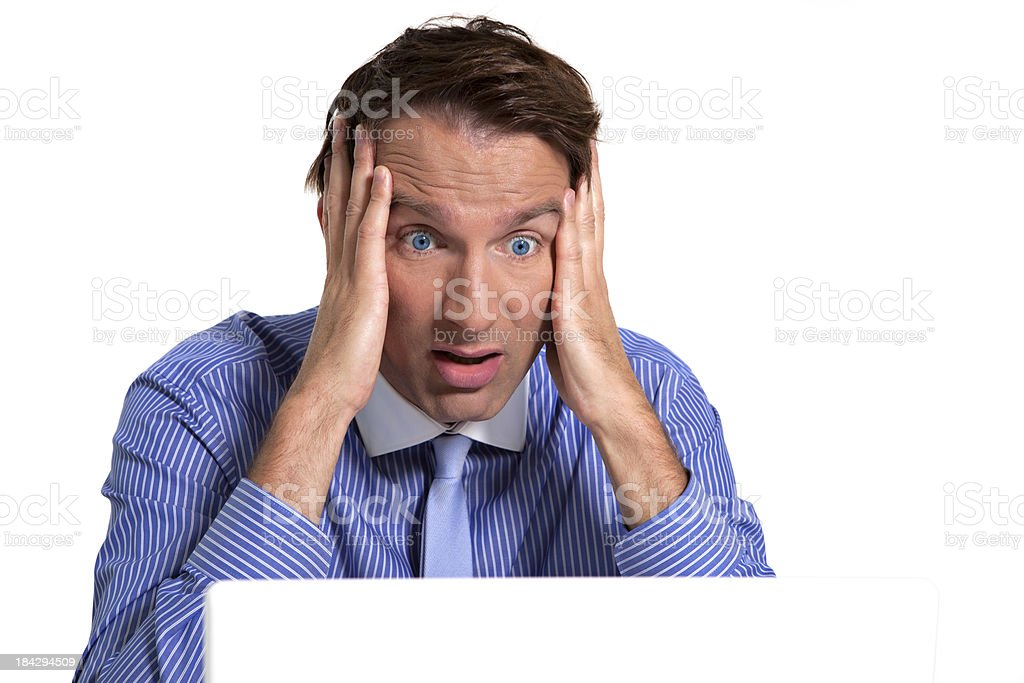 computer problems royalty-free stock photo