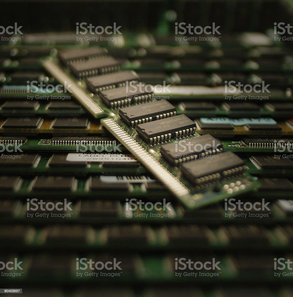 Memoria RAM de ordenador - Foto de stock de Aparato de información libre de derechos