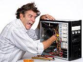 istock Computer repair 157681485