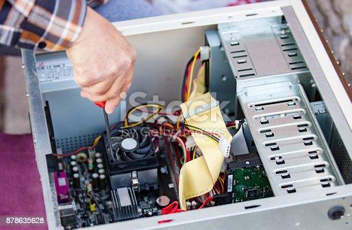 istock Computer Repair 878635628