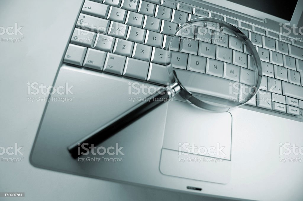 computer search royalty-free stock photo
