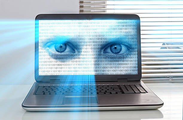 computer security - big brother orwellian concept stock pictures, royalty-free photos & images