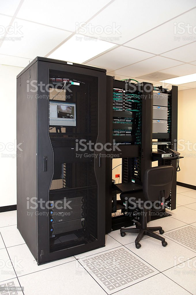 Computer Server Station royalty-free stock photo