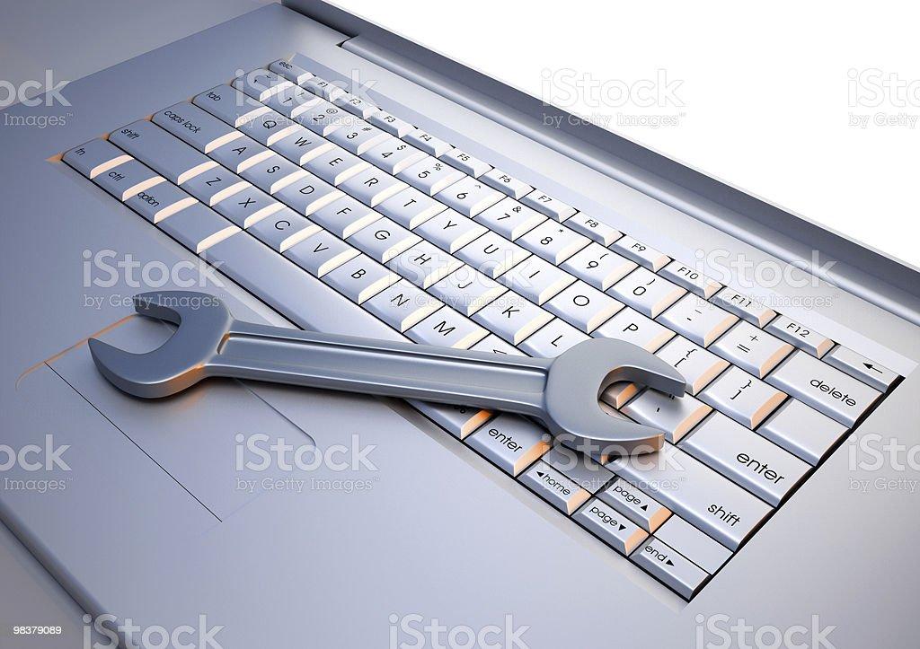 컴퓨터 서비스 royalty-free 스톡 사진