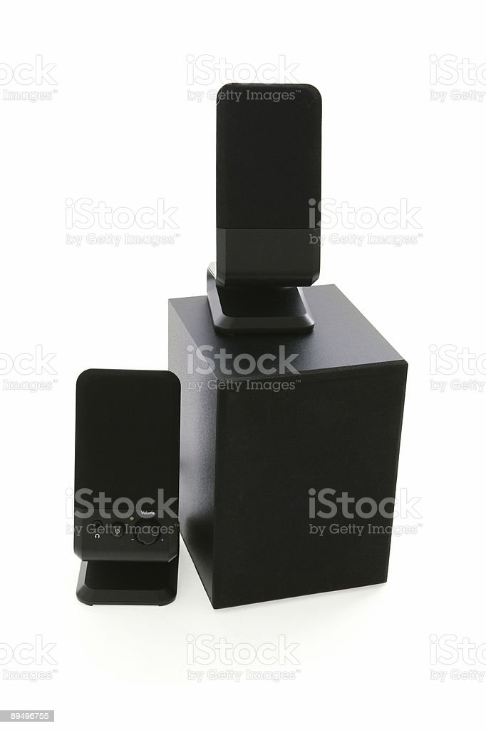 Computer Speakers royalty free stockfoto