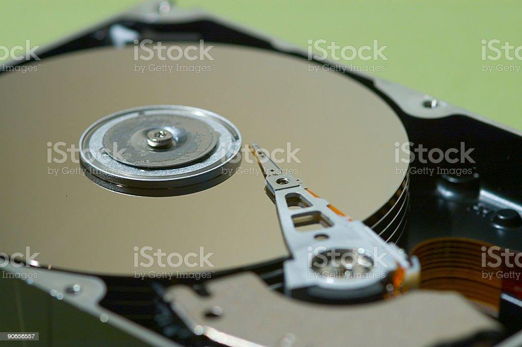 Computer Tech - Hard Drive 5 royalty-free stock photo