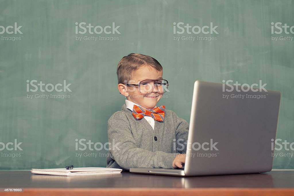Computer Time stock photo
