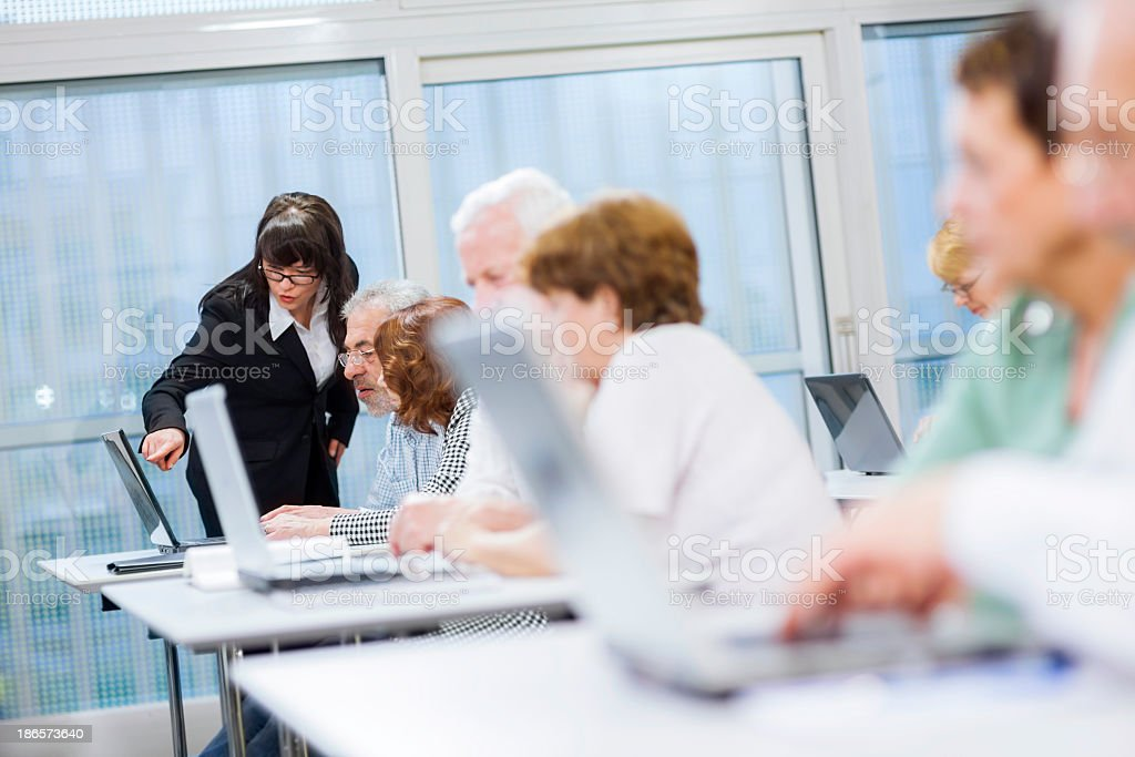 Computer Workshop royalty-free stock photo