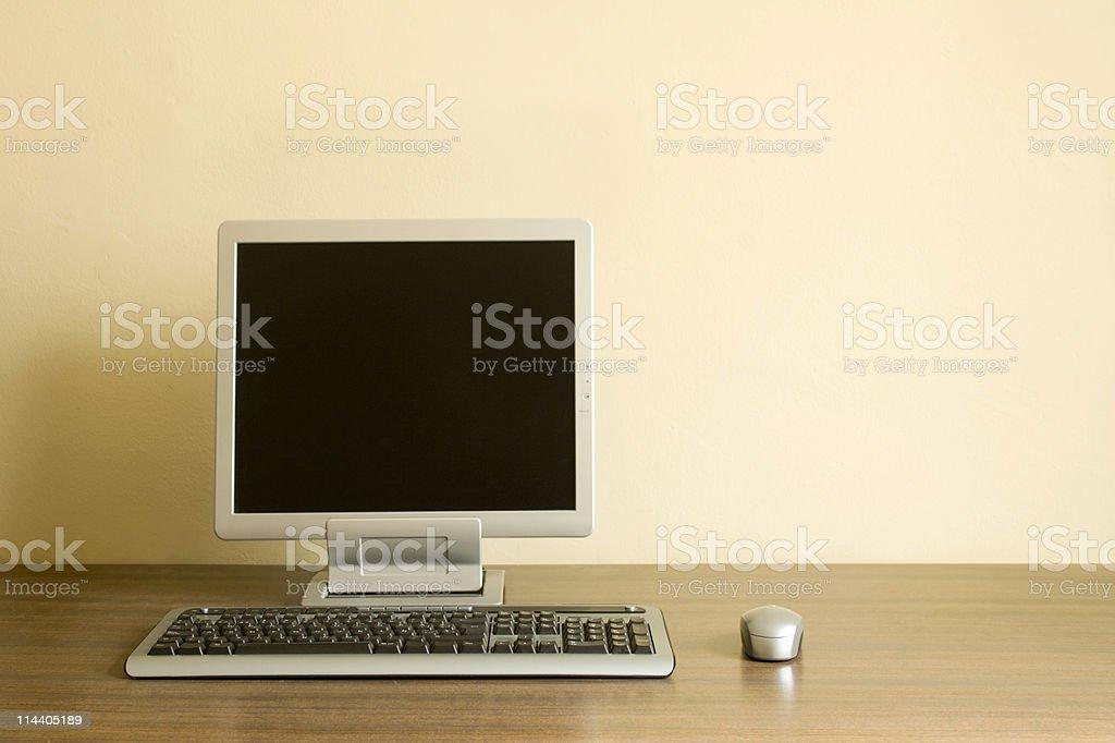 Computer Workstation stock photo