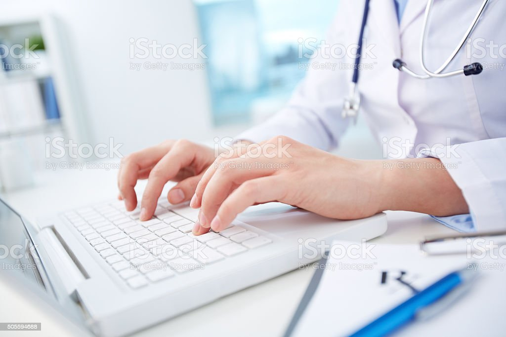 Computerization von healthcare system – Foto