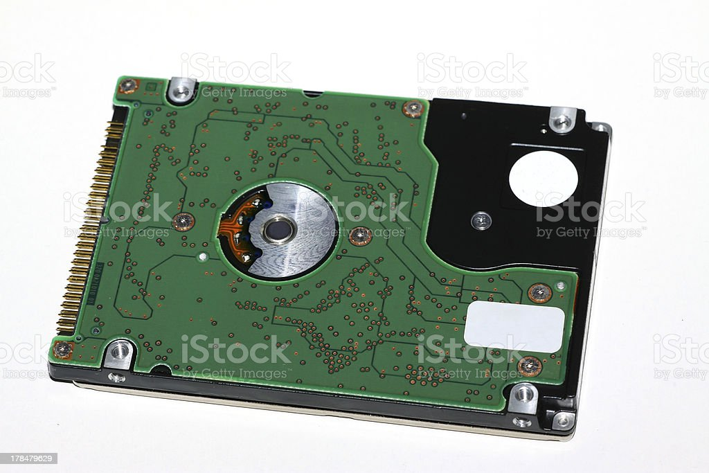 computer's hard drive royalty-free stock photo
