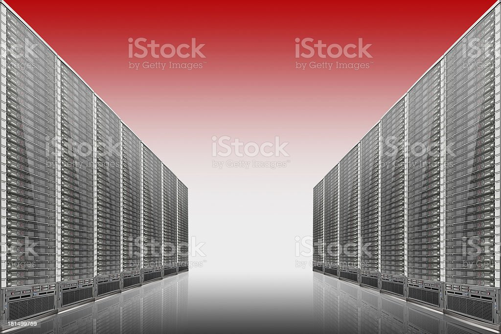 Computers, servers and all things related royalty-free stock photo