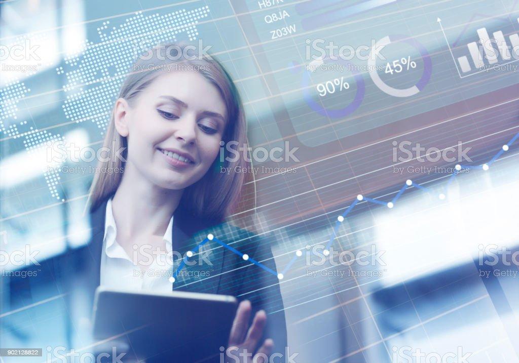 Computing finanzielle Vorteile – Foto