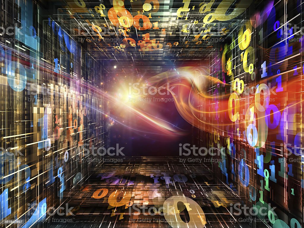 Computing Numbers royalty-free stock photo