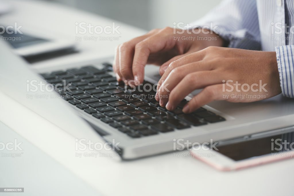 Computing stock photo