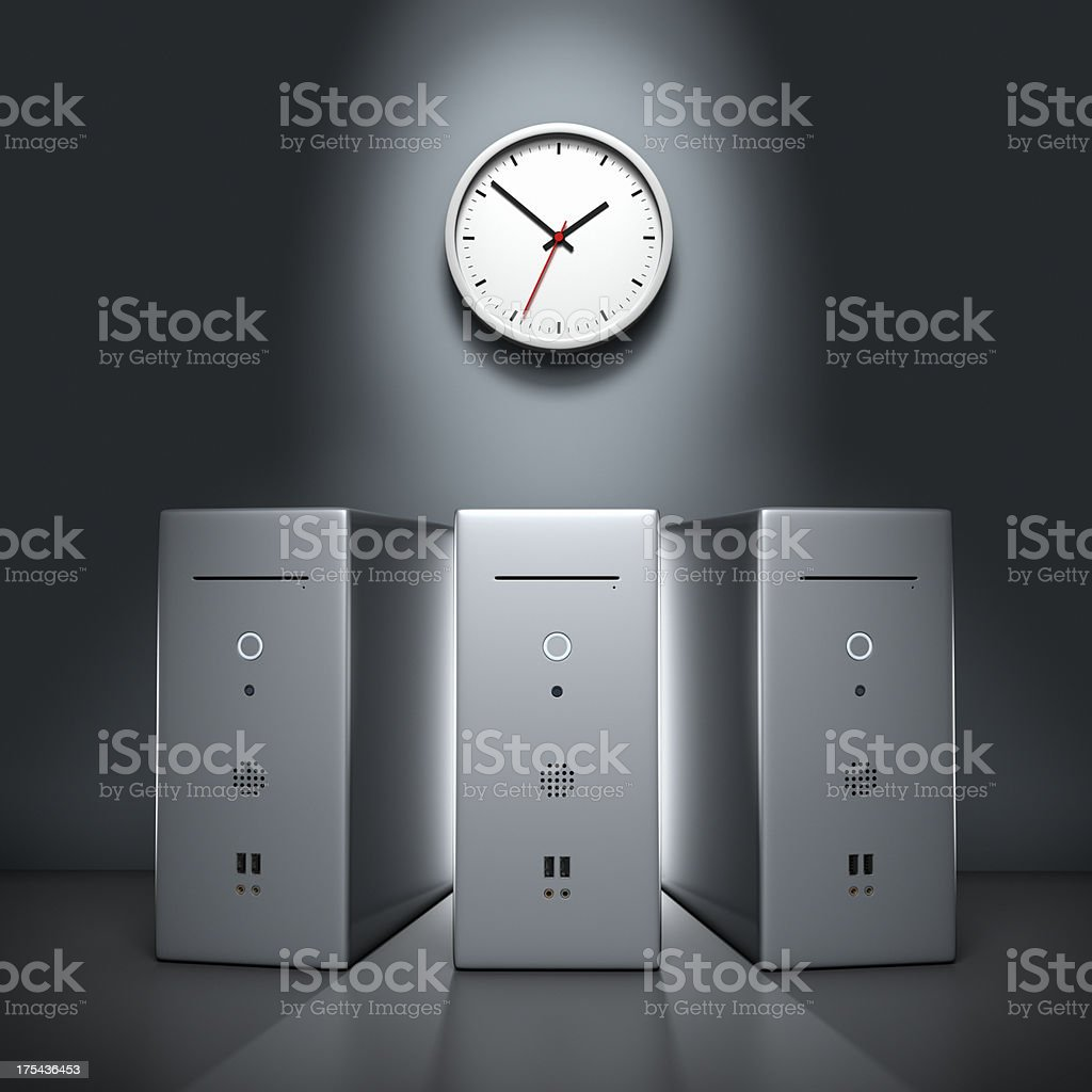 Computing Power XL+ royalty-free stock photo