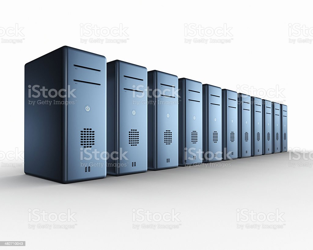 Computing Power XL royalty-free stock photo