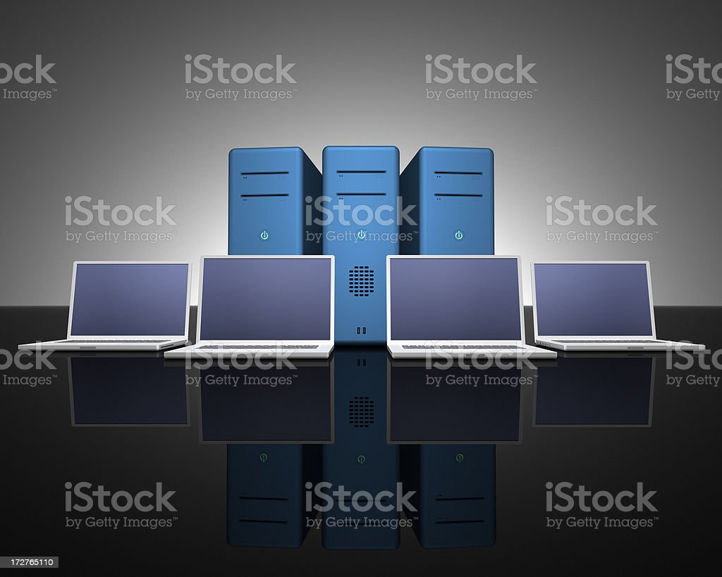 Computing Power XXL royalty-free stock photo