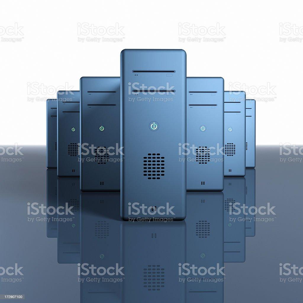 Computing Power XXL royalty-free stock photo