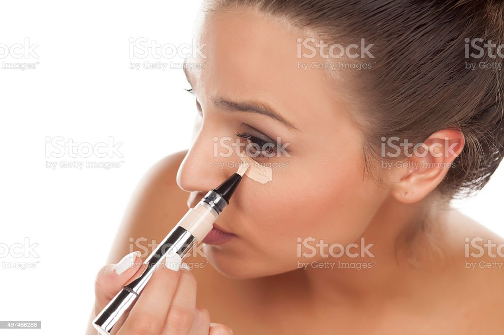 concealer stock photo