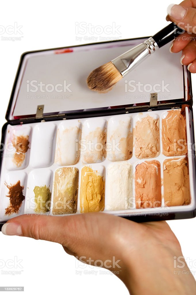 Concealers. stock photo