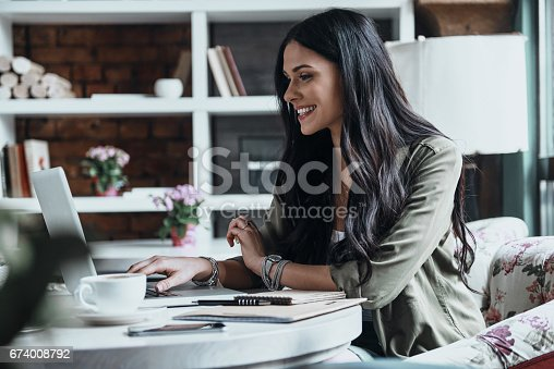 istock Concentrated at work. 674008792