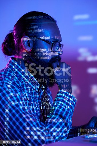 1098316816 istock photo Concentrated on work 1098316714