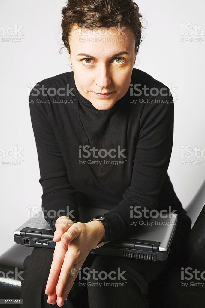 Concentration and discipline royalty-free stock photo