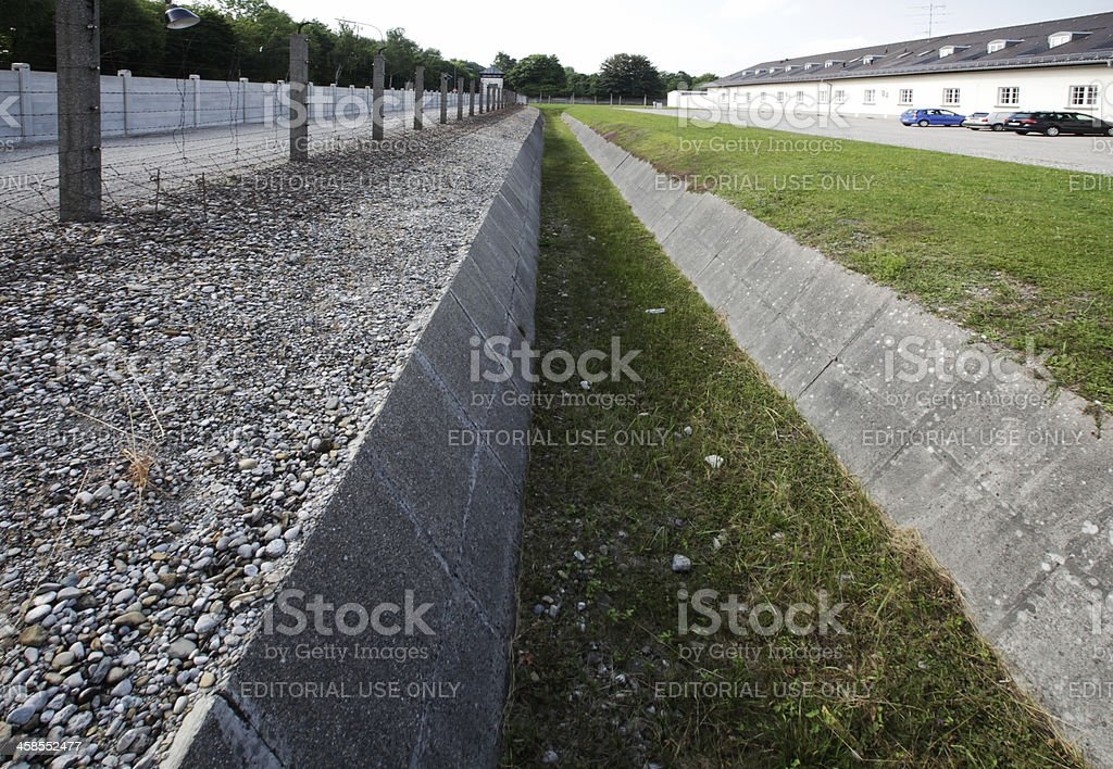 Concentration Camp Dachau, Germany royalty-free stock photo