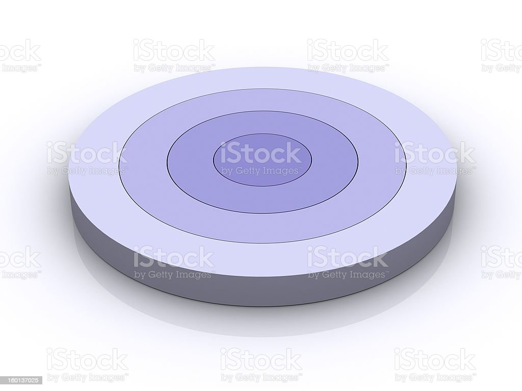 Concentric Circles royalty-free stock photo