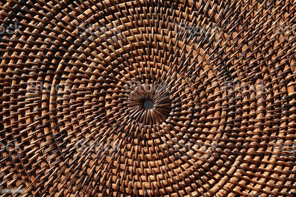 Concentric Circular Design Horizontal stock photo