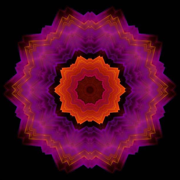 Concentric geometric pattern stock photo