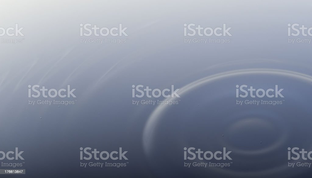 Concentric rippled water royalty-free stock photo