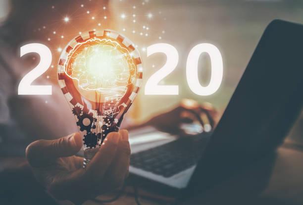 konzept 2020 - 2020 stock-fotos und bilder