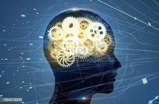 istock AI (Artificial Intelligence) concept. 3D illustration. 1004013340
